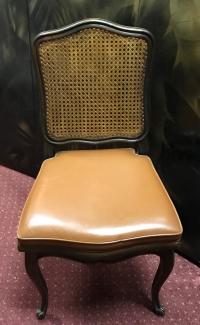 Chaise de bureau de style louis XV, époque XIXème. Réf: Charles 18.