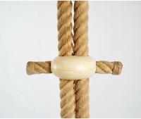 Lustre en corde Audoux Minet 1950
