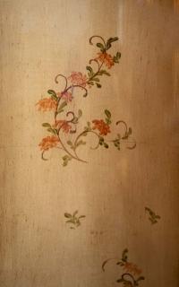 Armoire - encoignure chinoise, fin XIXème