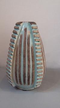 Vase ovoïde en céramique art déco, par Jean Besnard (1889 -1958)
