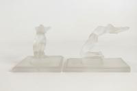 """René Lalique Paire de Serres Livres """"Chrisis"""""""