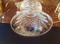 Paire de vases Médicis en cristal Val Saint-Lambert
