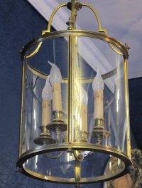 A Louis XVI style lantern.