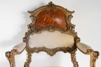 Paire de Fauteuils Rococo par Louis Majorelle 1890