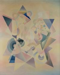 Composition géométrique. Michel Moréno