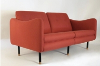 """1960s Living Room Suite """"Teckel"""" by Michel Mortier for Steiner, France"""