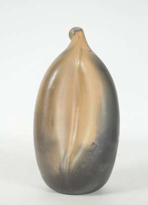 Jean Grison - Scuplture en terre-cuite sigillée figurant un végétal exotique