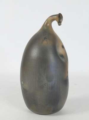 Jean Grison - Sculture en terre-cuite sigillée figurant un végétal exotique