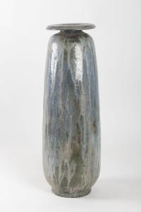 Grand vase en céramique par Edgard AUBRY ( 1880 - 1943 ) - Grès de Bouffioux