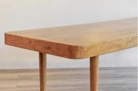 Grande Table en Orme Blond 1960