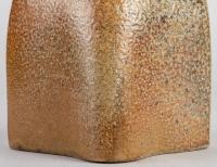 François Galissaires - Boîte zoomorphe en grès cuisson bois