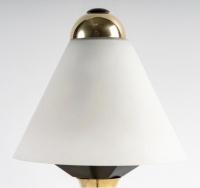 1950 Paire de lampes Maison Stilnovo.
