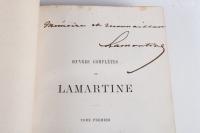 Livres Oeuvres complètes de Lamartine (1860)