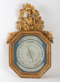 Baromètre d'époque 1er Empire (1804 - 1815). XIXème siècle.
