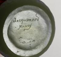 Vase de JACQUEMARD  à décor de Cyclamens EPOQUE 1900 NANCY