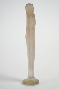 "Rene Lalique Statuette ""Voilee Mains Jointes """