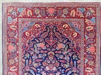 Tapis Kashan En Laine Kork Qualité Extra Fin - Iran Vers 1930