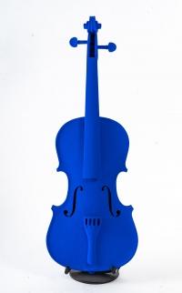 Violon bleu signé Mickael (pièce unique)