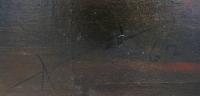 ALDINE Peinture contemporaine 20è siècle Les chemins de l'absolu Huile sur toile signée