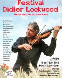Festival Didier Lockwood 2018 - Marché aux Puces de Saint-Ouen - Marché Biron