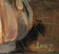 Bouquet de Fleurs, huile sur toile, XXème siècle
