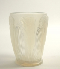 """René Lalique Opalescent """"Danaides"""" Vase"""