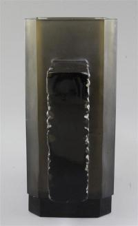 Rene Lalique 'Margaret' Topaze Vase