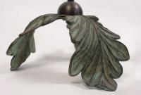 """1970s """"Oak"""" Model Floor Lamp by Chrystiane Charles"""