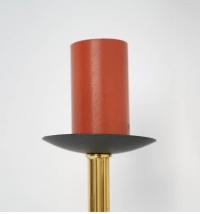 1960s Pair of Maison Honoré Torch Sconces