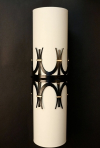 Large Pair of 1960s Sconces from a Parisian Brasserie