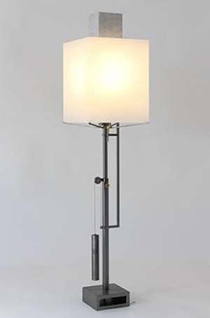 Lampe de bureau en acier