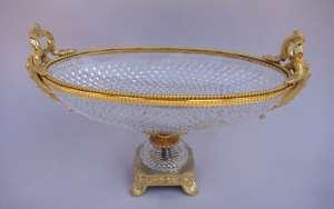 Coupe en cristal taillé de Sèvres