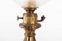 Paire De Lampe En Bronze Cloisonné