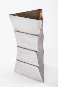 Orfèvre ANDREA BRANZI - Vase en argent massif - XXè