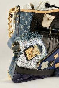 Sac Louis Vuitton Tribute Patchwork défilé Marc Jacobs année 2007