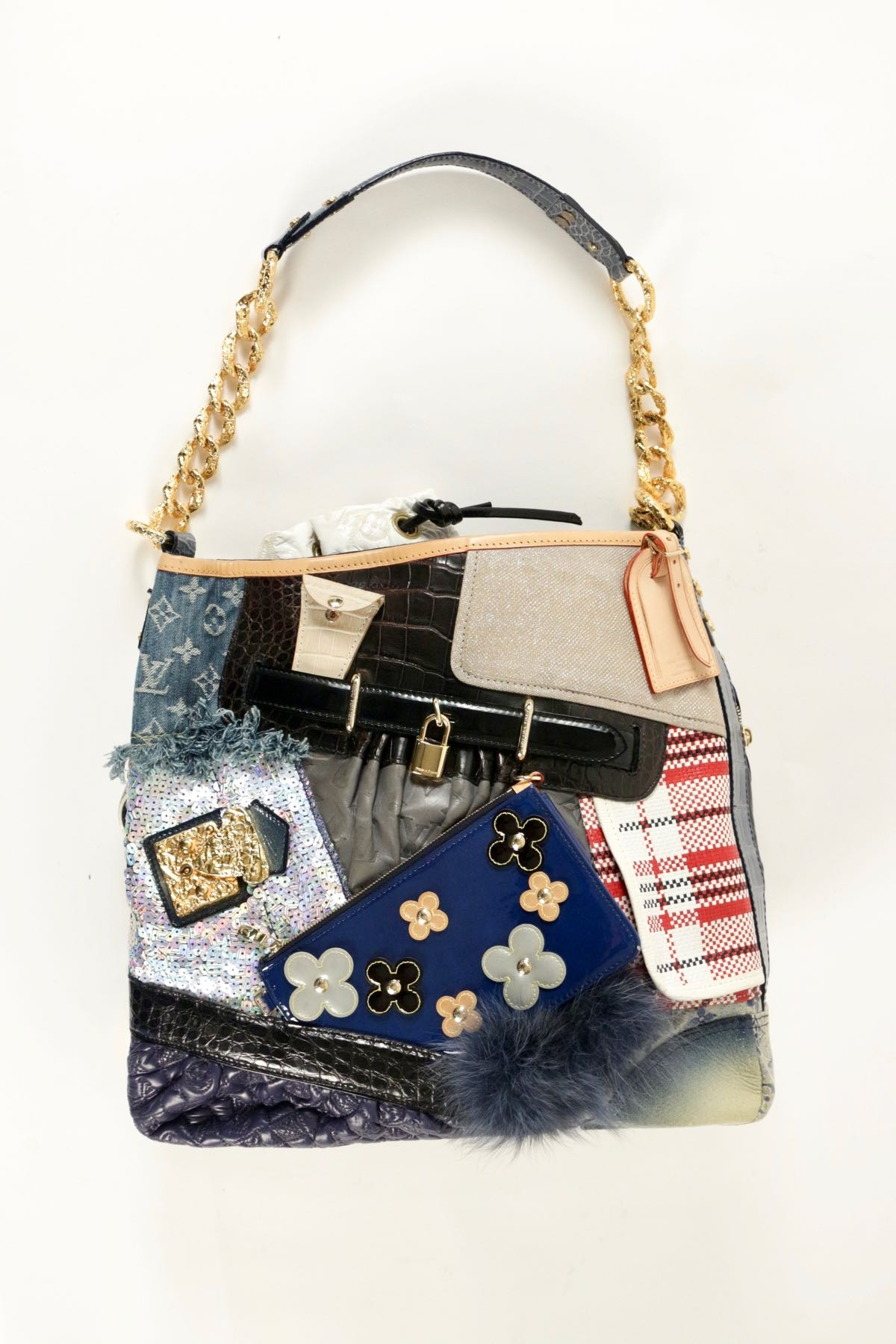 bc1f84d5bbc6 Must Have Louis Vuitton Tribute Patchwork Bag Fakes Available Too ...