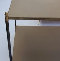 1950/70' Paire de bouts de canapé Maison Jansen 58 X 58 X H 61 cm