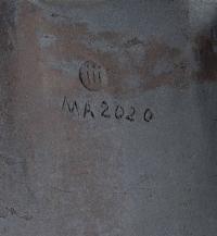 """Sculpture / tabouret  """"gingko"""" par Marc Albert"""