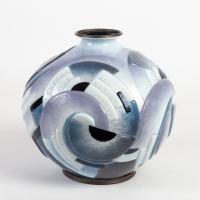 Camille FAURE (1872 -1944) :  Vase Boule