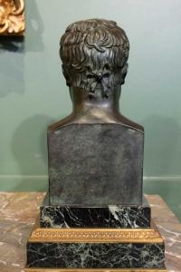 Buste en bronze de Napoléon 1er signé Canova