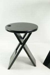 Talon Roger ensemble d'appoint:table et tabouret