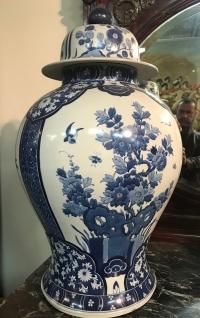 Important pot couvert, chine début XXème.         Réf: Charles 09.