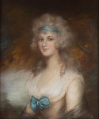 Joli pastel XVIIIe
