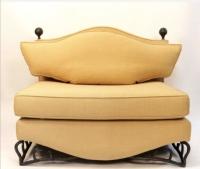 Paire de fauteuils marquise des années 1970 de Maurice Garnier