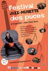 Festival Jazz Musette des Puces 2017 Parraîné par Didier LOCKWOOD