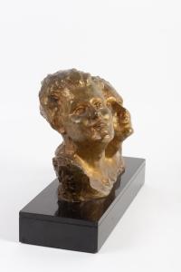 Bronze de R. Varnier socle en marbre début XXe siècle
