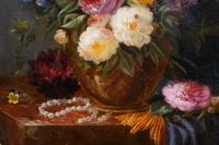 Ecole Lyonnaise Fin XVIII ème. Bouquet De Fleurs
