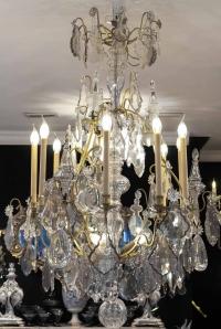 Lustre à 12 lumières fin 19e siècle