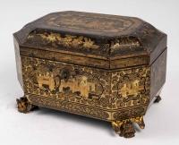 Boîte à Thé, XIXème siècle