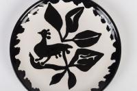 Paire d'assiette en céramique par Jean Lurçat (1892-1966)
